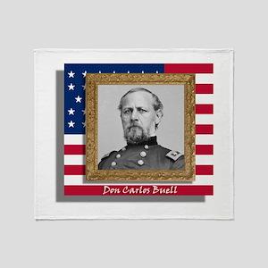 Don Carlos Buell Throw Blanket