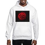 Red Rose Hooded Sweatshirt