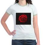 Red Rose Jr. Ringer T-Shirt