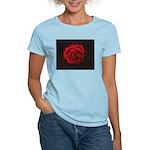 Red Rose Women's Light T-Shirt