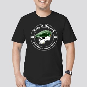 SONS of IRELAND - Men's Fitted T-Shirt (dark)