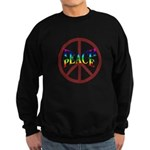 Teach Peace Sweatshirt (dark)