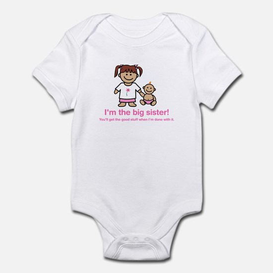 """You'll get the good stuff..."" (pink) Infant Creep"