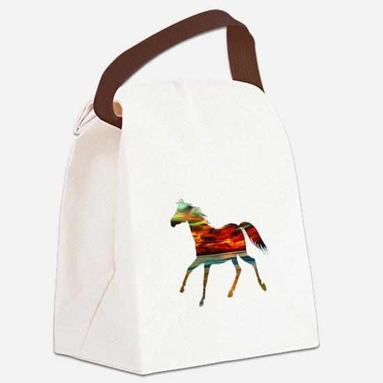 FEEL THE SPIRIT Canvas Lunch Bag