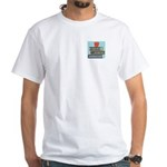 MrsRead.Com White T-Shirt