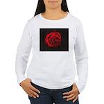 Red Rose Women's Long Sleeve T-Shirt