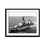 USS EPPERSON Framed Panel Print