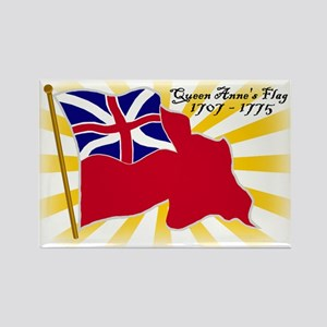 Colonial Red Ensign Rectangle Magnet