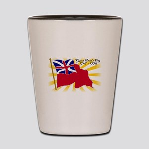 Colonial Red Ensign Shot Glass
