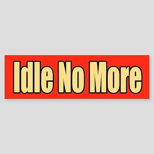 Idle No More Sticker (Bumper)