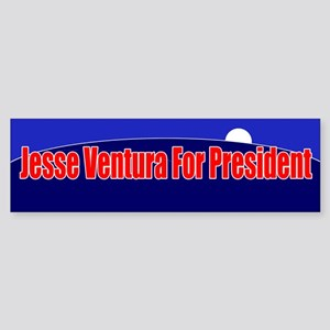 Jesse Ventura For President Sticker (Bumper)