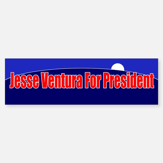 Jesse Ventura For President Sticker (Bumper)