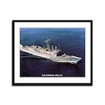 USS ESTOCIN Framed Panel Print