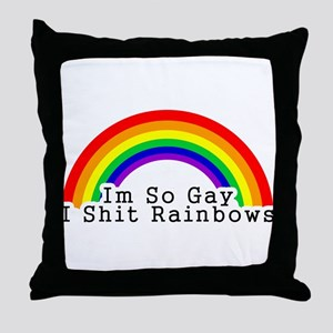Im So Gay Throw Pillow