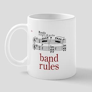 Band Rules Mug