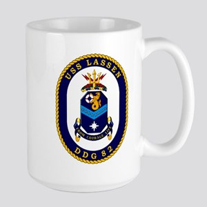 USS Lassen DDG 82 Large Mug