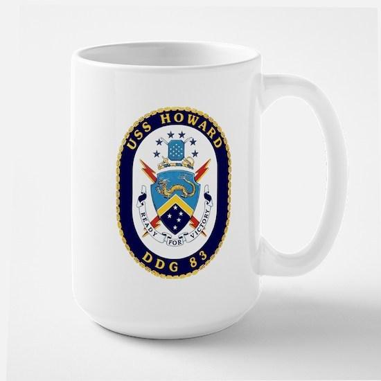 USS Howard DDG 83 Large Mug