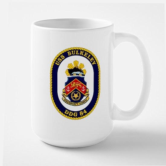 USS Bulkeley DDG 84 Large Mug