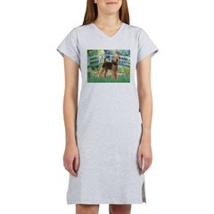 Bridge - Airedale #6 Women's Nightshirt