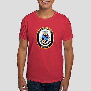 USS McCampbell DDG 85 Dark T-Shirt