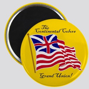 The Grand Union Flag Magnet