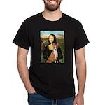 Mona Lisa - Basenji Dark T-Shirt