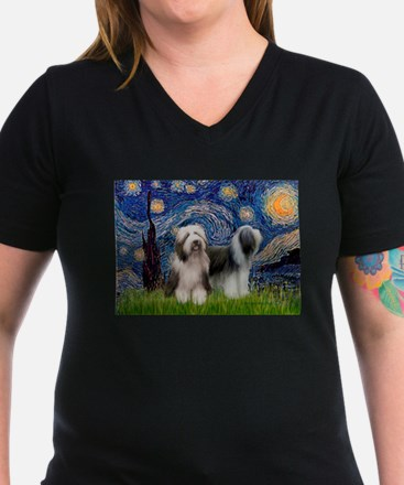 Starry / 2 Bearded Collies Shirt