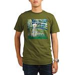 Bridge / Bedlington T Organic Men's T-Shirt (dark)