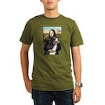 Mona's Bernese Mt. Dog Organic Men's T-Shirt (dark