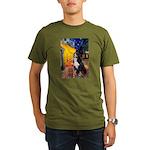 Cafe & Bernese Organic Men's T-Shirt (dark)