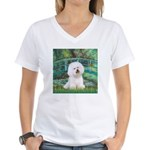 Bridge & Bichon Women's V-Neck T-Shirt
