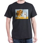 Sunflowers & Bolognese Dark T-Shirt