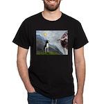 Creation of a Boston Ter Dark T-Shirt