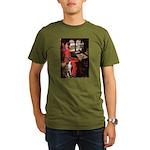 Lady & Boxer Organic Men's T-Shirt (dark)