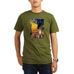 Cafe & Boxer Organic Men's T-Shirt (dark)