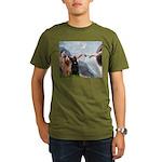 Creation / Briard Organic Men's T-Shirt (dark)