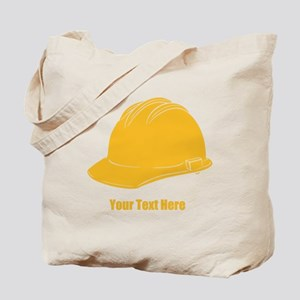 Workers Hat. Your Text. Tote Bag