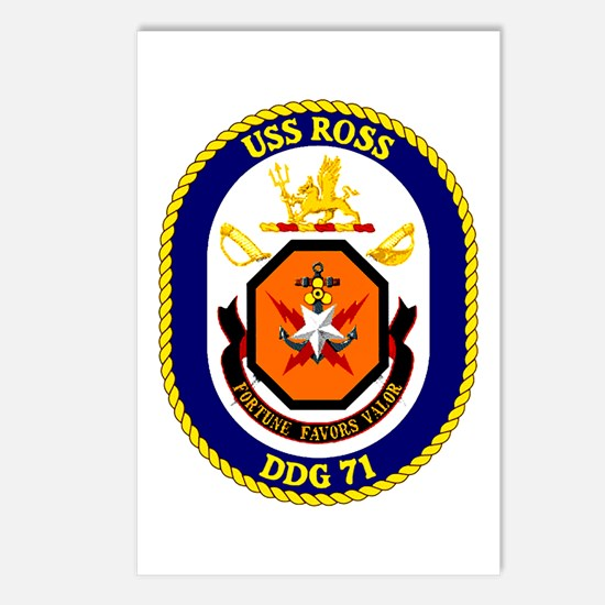 USS Ross DDG 71 Postcards (Package of 8)