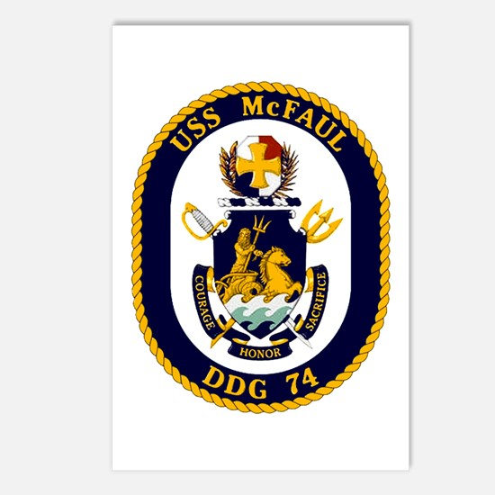 USS McFaul DDG 74 Postcards (Package of 8)