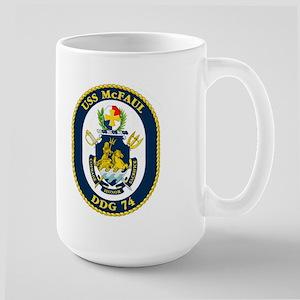 USS McFaul DDG 74 Large Mug