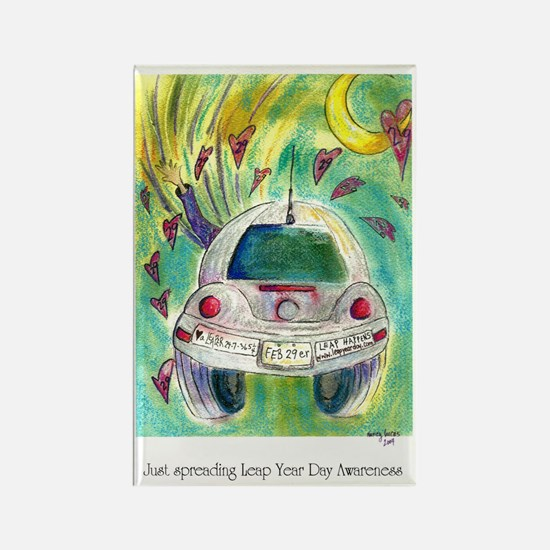 Leap Year Day Awareness Rectangle Magnet