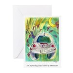 Leap Year Day Awareness Greeting Cards (Pk of 10)