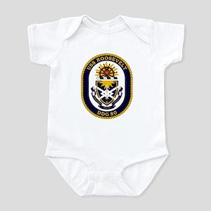 USS Roosevelt DDG 80 Infant Creeper