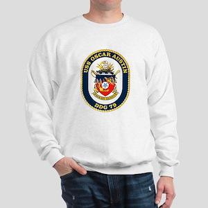 USS Oscar Austin DDG 79 Sweatshirt