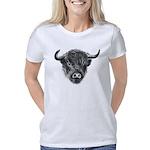 Windswept Scottish Cow Women's Classic T-Shirt
