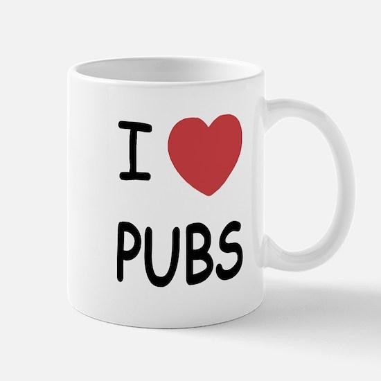 I heart pubs Mug
