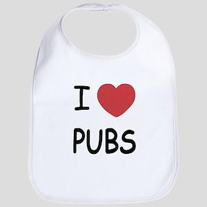 I heart pubs Bib