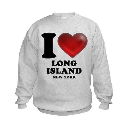 I Heart Long Island Kids Sweatshirt