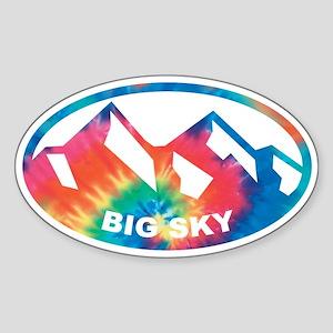Big Sky Oval Sticker (Oval)