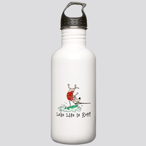 Wakeboarding Stainless Water Bottle 1.0L